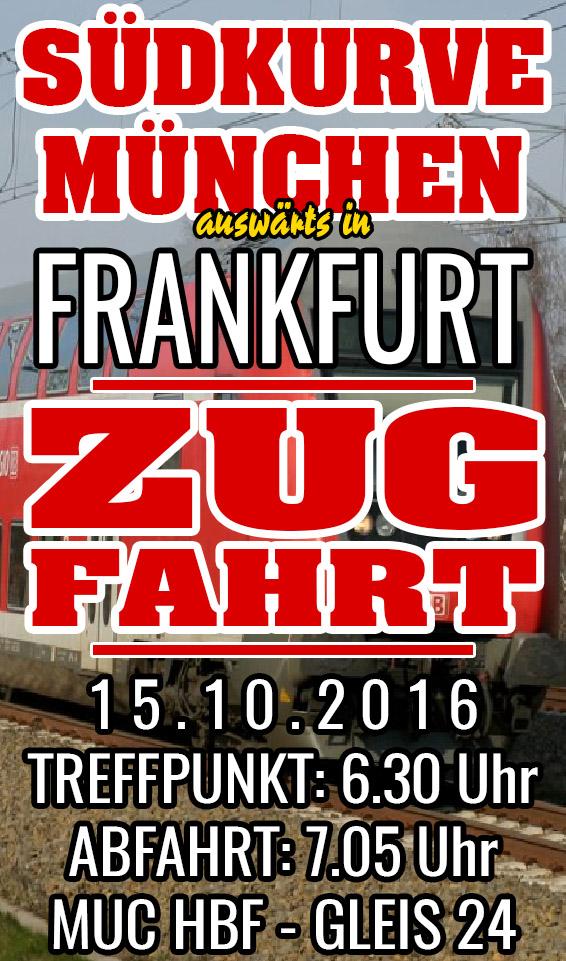 Zugfahrt nach Frankfurt